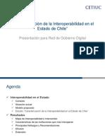 UGD-CETIUC - Estudio de Interoperabilidad - Presentacion para Red de Goberno Digital