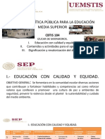 TRES LINEAS DE POLITICA PUBLICA DEL CBTIS  184.pptx