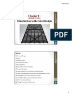 GCV521-Steel & Mixed Structures -Chapter I - Introduction to the Steel Design - Part 1