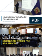 Liquidacion Tecnica de Obras Publicas - sesion 1