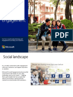 Introducing microsoft social engagement source