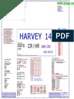 HP 1000 Inventec 6050A2493101-MB-A02 UMA DIS Rev X01 Pavilion G4-2000 Presario CQ35-701tu CQ45-2000 Schematic