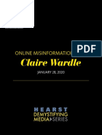 Hearst Demystifying Media Podcast - Online Misinformation With Claire Wardle