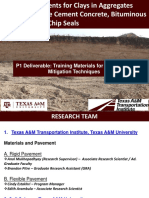 TexasAM Clays in Aggregates