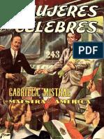 Mujeres Celebres 5 - Gabriela Mistral