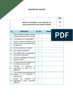 CUESTIONARIO CONTROL INTERNO gestión institucional