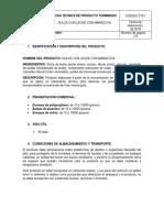 FT01 FICHA TECNICA DULCE CON LECHE CON MARACUYA
