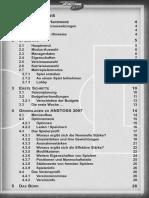 Anstoss 2007 - Handbuch
