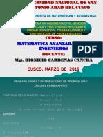 MAESTRIA EN INGENIERIA CIVIL  PROBABILIDAD Y DISTRIBUCION DE PROBABILIDAD - copia (1)