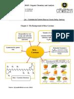 Chromatography of beta carotene