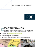 Lecture NOTE Principles of earthquake