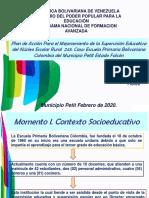PRESENTACIONES III ESCENARIOS DE INVESTIGACION