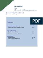OTEFA Newsletter Dec 2010