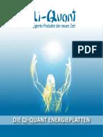 Qi-Quant Energieplatten