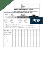 SAS - Symptom Assessment Scale - BW