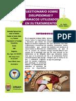 Cuestionario de dislipidemia