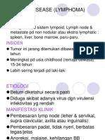 16. HODGKIN DISEASE (LYMPHOMA)