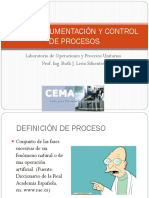 2. Instrumentación y control de procesos