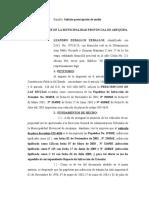 ESCRITO DE PRESCRIPCION DE PAPELETAS