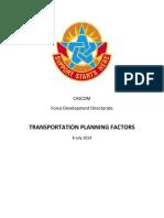 Transportation Planning factors v.2