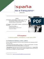 España Durante el Franquismo PDF