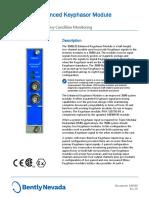 3500-25 Enhanced Keyphasor Module Datasheet - 141532