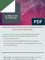 Trucs pour s'améliorer en français