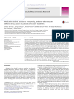 Medication beliefs, treatment complexity, and non-adherence to different drug classes in patients with type 2 diabetes