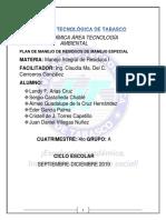 Plan de manejo de residuos ANEXOS RELLENADOS.pdf