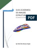 Guia Academica Análisis Estructural II Parte 1 Generalidades 2019 - II.pdf