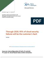 Azure Security Fundamentals-NovaQuantum Managed Azure Security Services
