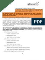 Sistema de Precios Tope de Telmex