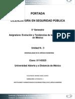 Criminalidad en Mexico