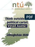 Aontú Election 2020 Manifesto