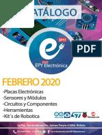 Catálogo EPY Febrero 2020