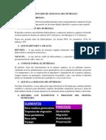 CUESTIONARIO DE GEOLOGIA DEL PETROLEO