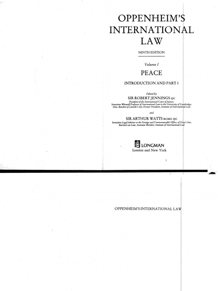 Biscottini International Art Trading 9th edition oppenheim.pdf | sovereign state | international law