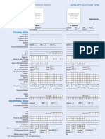 Loan Application Form of DMI Housing Finance Pvt. Ltd.