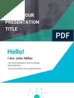 Copy of Professional Google Slides - Free Presentation Template - Slidesmash