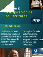 Leccion2_Inspiracion de las Escrituras