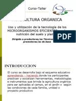 Curso Agricult,. Organica
