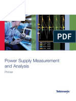 Power Supply Measurement Analysis