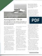 TB20 Aviation Consumer