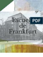 Cartilla Escuela de Frankfurt