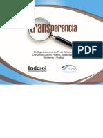 Transparencia INDESOL CONFIO