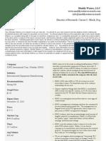 Muddy Waters Research 101110 RINO International Corp (Nasdaq)