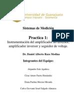 Sistemas de Medición Practica 1 y 2