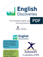English Discoveries Class A Padang
