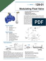 modulating float valve