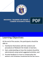MODULE 6  Career Guidance Grade 11